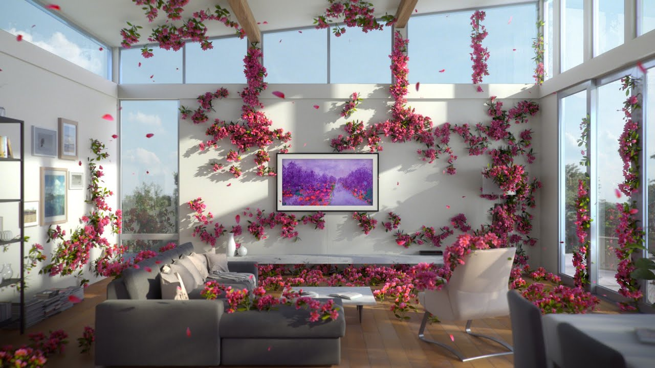 Samsung The Frame TV : Enhance your everyday space with Art Store