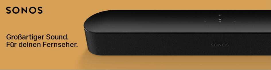 Sonos Beam Aktion bis 21.09.2019 – jetzt 30 Tage testen ohne Risiko bei uns in d…