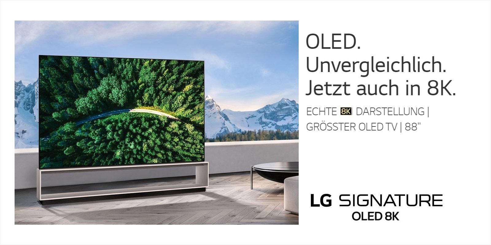 LG OLED TV 4K / 8K bei uns in den Reisenberger Galerien.   LG OLED TVs sind die …