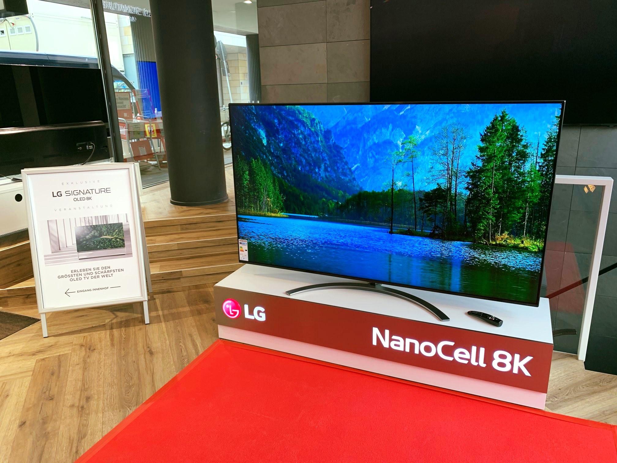 LG NanoCell 8K. Ein unglaubliches Bild. Machen Sie sich Ihr Eigenes bei uns in d…