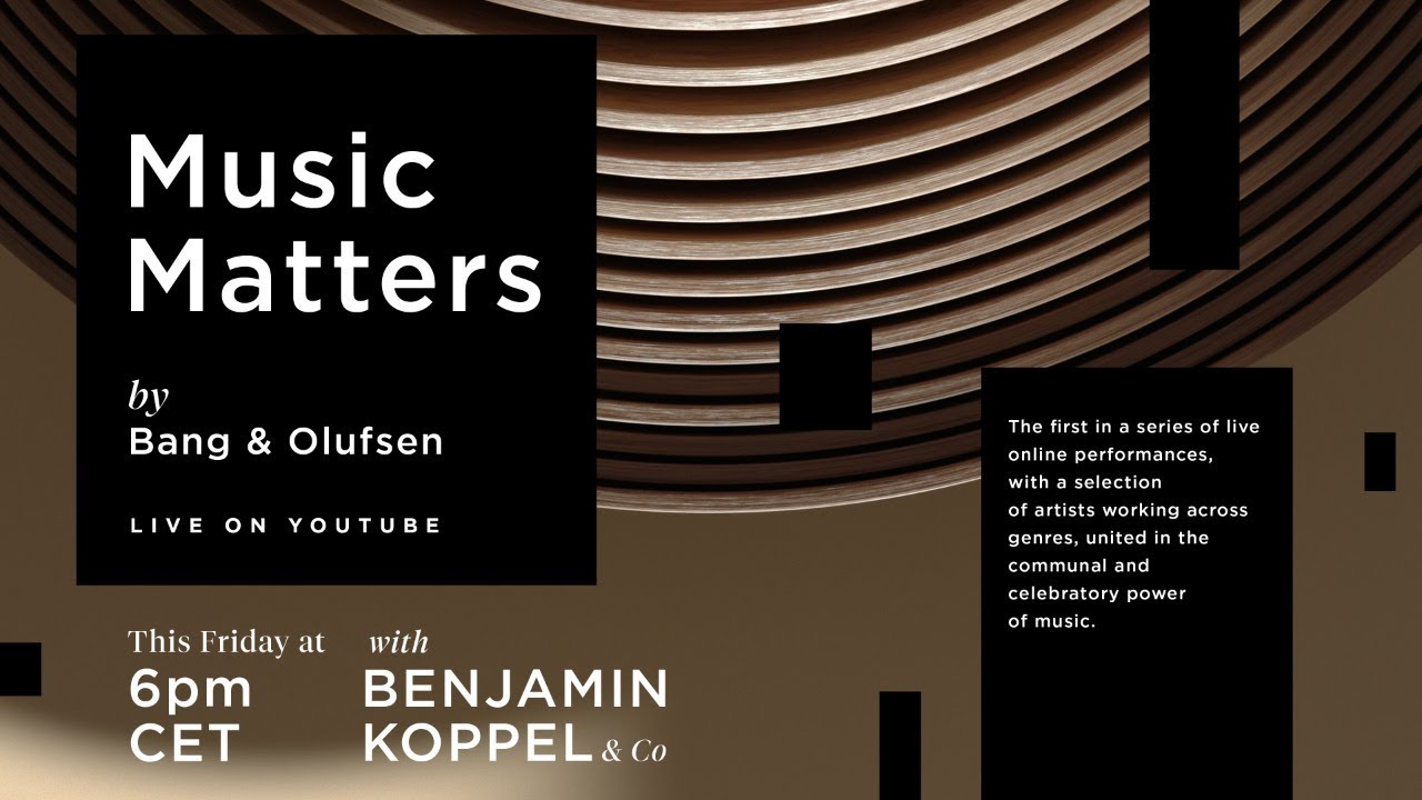 Music Matters – Live Jazz featuring Benjamin Koppel and Friends